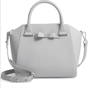 Janne Bow leather tote